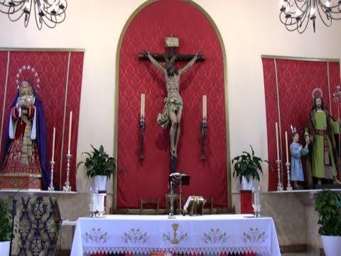 Misa Dominical, tercera de Cuaresma, en Isla Cristina