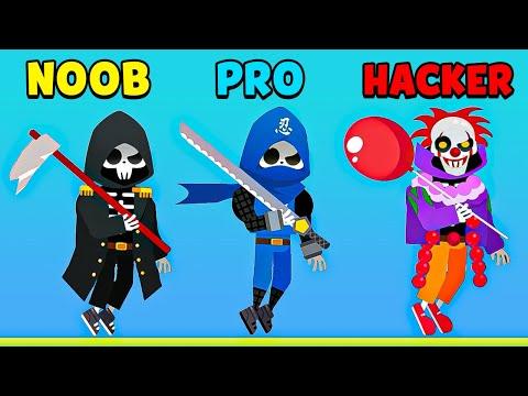 NOOB vs PRO vs HACKER - Death Incoming