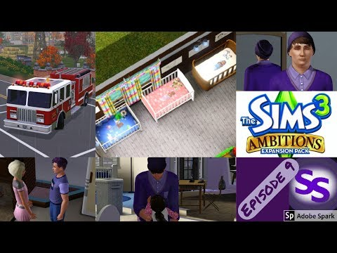 Sims 3: Generation 2 - Ambitions - Episode 9 WHO YA GONNA CALL?