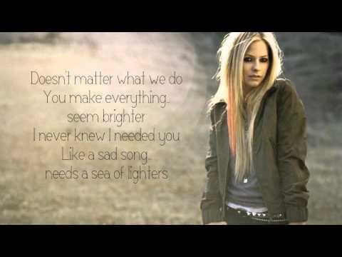 Avril Lavigne - Falling Fast lyrics
