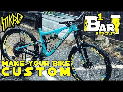 B1KER Bar ::: Episode 3 ::: STIKRD ::: How to make Your Bike Custom (видео)