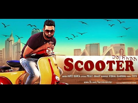 Scooter – Official Video | Harsimran | Latest Punjabi Song 2014 | Panj-aab Records