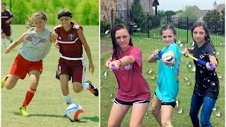 Kamri's Soccer Road Trip & Summer Fun | Behind The Braids Ep.5 by Cute Girls Hairstyles