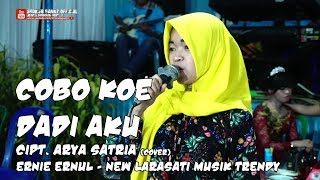 Video COBO KOE DADI AKU (cover) ERNIE ERNUL - NEW LARASATI MUSIK TRENDY - Live Perform MP3, 3GP, MP4, WEBM, AVI, FLV November 2018