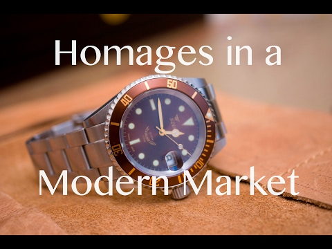 Homages in a Modern Market - Squale 1545 and Steinhart Ocean Controversy (видео)