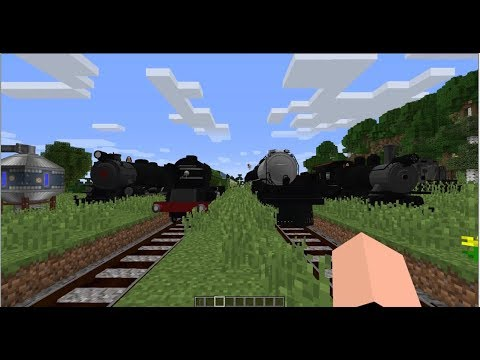 Immersive Railroading Beta Spotlight (Minecraft 1.12)