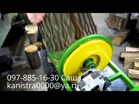 Как сделать дровокол из двигателя от стиральной машины