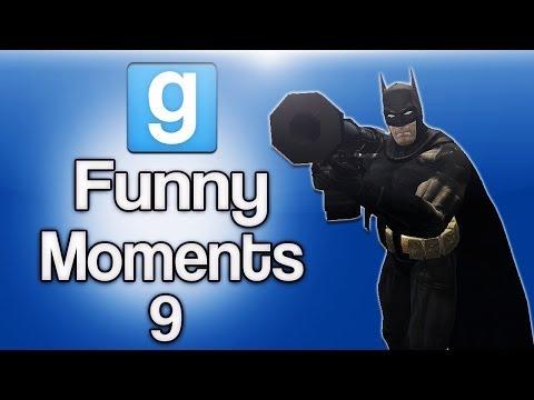 Gmod Funny Moments Ep. 9 (Random Sandbox Fun)