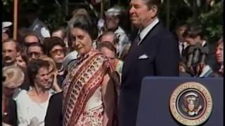 Video President Reagan's Remarks at Prime Minister Gandhi of India State Visit on July 29, 1982 MP3, 3GP, MP4, WEBM, AVI, FLV Februari 2019