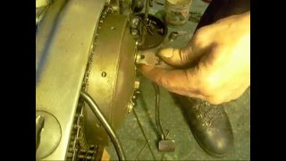 10. setting up the clutch pt3 Triumph Bonneville