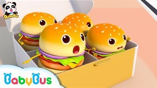 Video Hamburgers Fell down From Truck | Ice Cream | Learn Colors | Nursery Rhymes | Baby Songs | BabyBus MP3, 3GP, MP4, WEBM, AVI, FLV Desember 2018