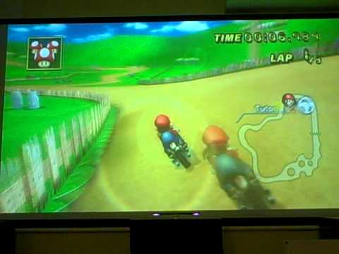 Mario Kart (Wii) - Unlocking Expert Staff Ghosts on Mushroom Cup