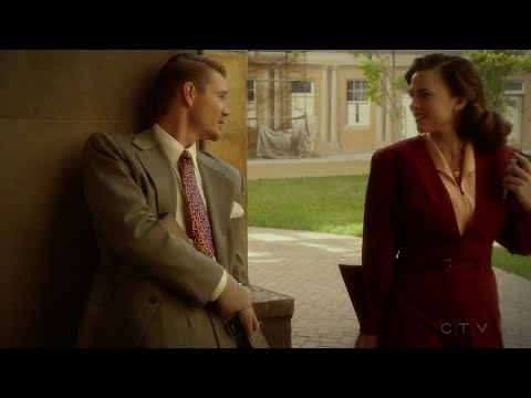 """Agent Carter 2x10 scenes: Peggy and Thompson """"You're a good man, Jack"""""""