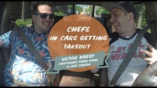 In this special Father's Day edition of Chefs in Cars Getting Takeout Matt welcomes special guest Chef, and father, Victor Barry.