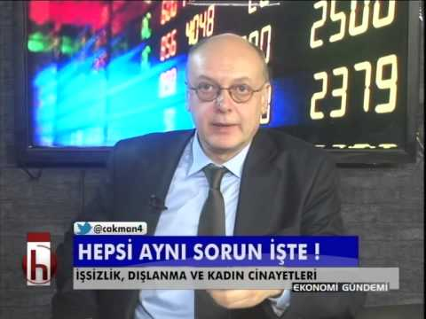 Dr. Cüneyt Akman'la Ekonomi: İşsizlik 4 yılın zirvesinde