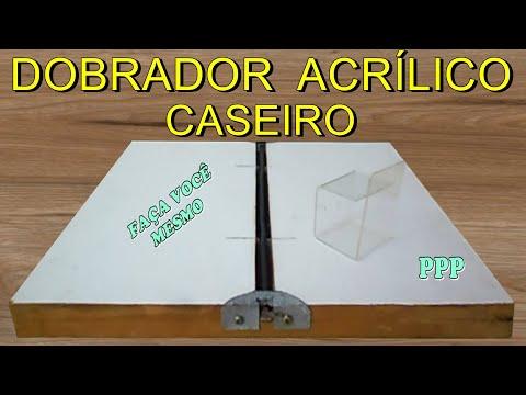 COMO FAZER DOBRADOR DE ACRÍLICO ELÉTRICO CASEIRO, PASSO A PASSO, COM SUCATA  / FOLDER OF ACRYLIC