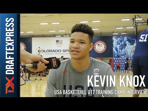 Kevin Knox USA Basketball U17 Training Camp Interview
