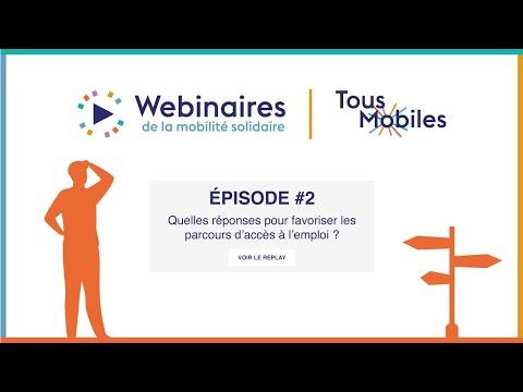 Replay du webinaire : quelles réponses pour faciliter les parcours d'accès à l'emploi ?