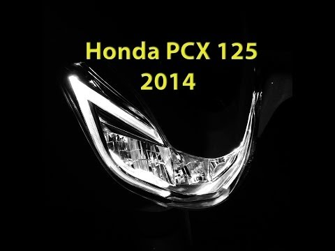 The all new Honda PCX125 2014
