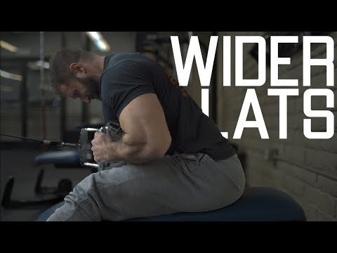 How To Get Wider Lats   Back Width Workout