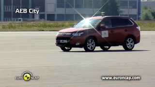 Euro NCAP - Collision Avoidance Testing Demonstration