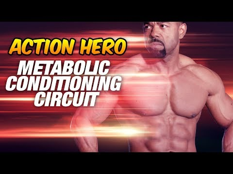 Fat burner - Action Hero Metabolic Workout (Over 40 Fat Loss!)