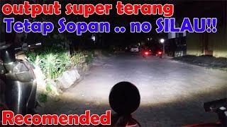 Video spotlight || foglamp || lampu kabut tambahan cree spot 20 watt || chudax bikers shop MP3, 3GP, MP4, WEBM, AVI, FLV November 2018