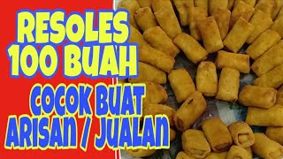 Video CARA BIKIN RISOLES //BUAT 100 BUAH MP3, 3GP, MP4, WEBM, AVI, FLV Mei 2019