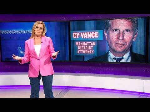 Cy Vance: Technically Legal | March 14, 2018 Act 2, Part 1 | Full Frontal on TBS (видео)
