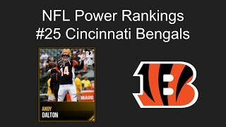 Continuing our countdown. we have the Bengals. Andy Dalton just isn't good enough. Twitter: https://twitter.com/anthonytakes18.