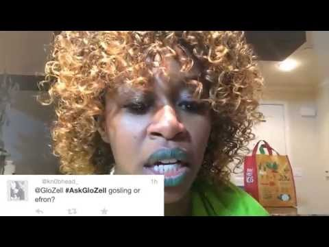 answers - Thank you @GloZell Twitter followers for your fun questions! Stay tuned for next Monday's call to #AskGloZell on Twitter! New episodes every Tuesday. --- Subscribe to GloZell: http://bit.ly/Gloz...
