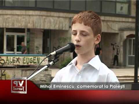 Mihai Eminescu, comemorat la Ploieşti