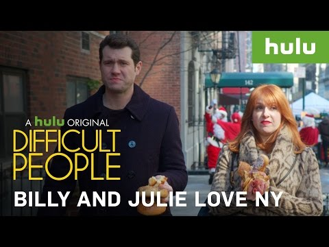 Billy And Julie ♥ NY • Difficult People on Hulu