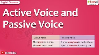 Learn Writing Sentences In Active And Passive Voice