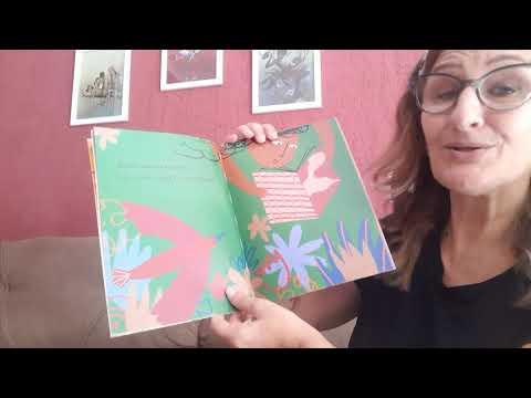 A professora Tania Marcia Tomaszewski lê LIA LIA