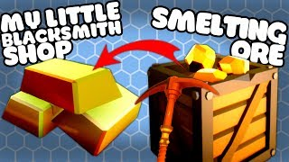 Let's Play My Little Blacksmith Shop! The new My Little Blacksmith Shop Alpha is UPDATED to 0.0.8! It adds in Smelting, Pickaxes and tools! The Axes and Pickaxes can be used for mining and to chop wood! They're both use for smelting ingots of the ore you find in the mine. Josh shows you smelting and how to cut down trees.Download My Little Blacksmith Shop for free on PC:https://dasius.itch.io/my-little-blacksmith-shop?ac=ox5j9VQFMy Little Blacksmith Shop Gameplay Playlist:https://www.youtube.com/playlist?list=PLX1cB1BI8l6k5aXFClKo_5ZnMon3eCEUy---➤Buy a Shirt! - http://shop.spreadshirt.com/GamingFTL➤Support Josh's video creation - http://www.patreon.com/GamingFTL➤Stalk me on Twitter - https://twitter.com/GamingFTL➤Join the Discord community -  https://discord.gg/XnvRSW7If I say something that bothers or you or that you think was ill-considered, please let me know. I can't promise to be perfect, but I can promise to try to listen, learn, and apologise when I screw up. ✌---