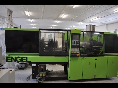 Plastics Injection Molding Machine ENGEL ES 330/80 HL ST 1997