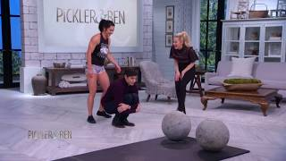 Strong Woman Jackie Wood Lifts Kellie and Ben! - Pickler & Ben