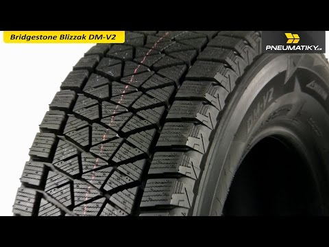 Youtube Bridgestone Blizzak DM-V2 285/45 R22 110 T Soft Zimní