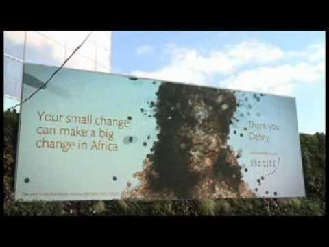 micro loan - The charity combined site-specific advertising with social media for its latest campaign, created by IPG agency DLKW Lowe, based in London. The billboards ur...