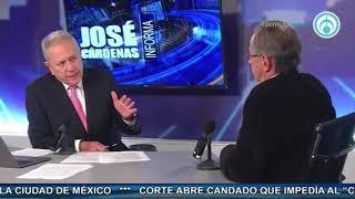 Video José Antonio Crespo, con José Cárdenas Informa MP3, 3GP, MP4, WEBM, AVI, FLV Agustus 2017