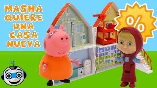 Masha quiere comprar una casa nueva