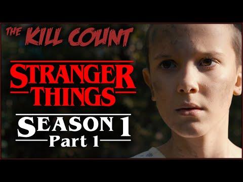 Stranger Things: Season 1 (2016) [PART 1 of 2] KILL COUNT