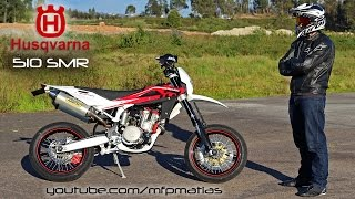 4. New bike reveal !!! Husqvarna 510 SMR 2010 | Supermoto !!!