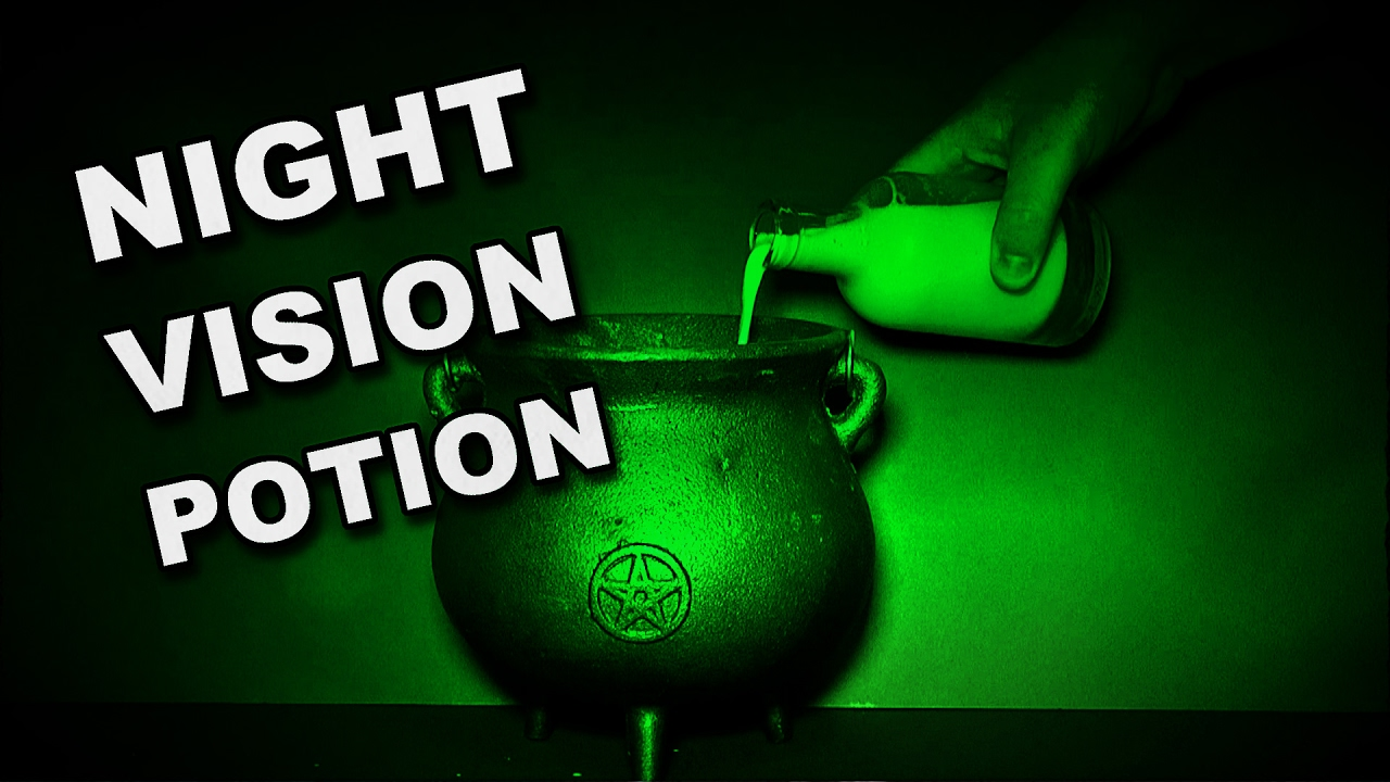 How To Make A Potion To Let You See In The Dark (Night Vision)