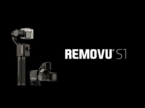 Rainproof Removu S1 gimbal aimed at GoPro shooters