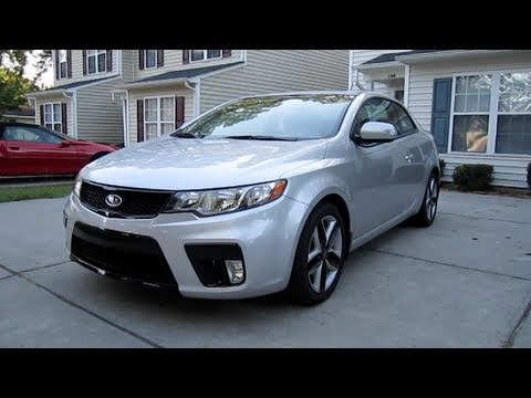 2010 Kia Forte Koup SX In Depth Review, Start Up, and Engine Details