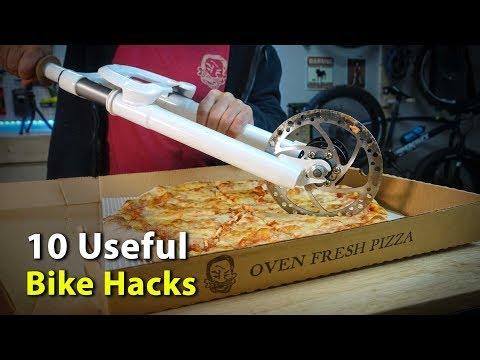 10 Useful Bike Hacks for Cyclists of all Kinds 🚵\u200d♀️ (видео)