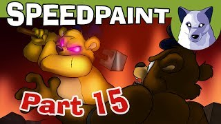 """Do you make cartoons? Drawings? Are you an animation enthusiast? Take a look here and join the Channel Frederator Network! Join Frederator ►https://dashboard.frederator.com/apply/frederator?aggregatorKey=tonyHey, guys! Here is another Speedpaint related to Part 15! :)It's the drawing that will appear at the beginning of the episode, featuring both Freddy and Fredbear, particulary quiet, trying to get over their past... Nope, they're trying to kill each other! XDI'm going to start editing Part 15 tomorrow, the editing is going to be the most elaborate I've done so far, then it might take me a few more days than usual, but the animations are finished, and after some backgrounds, effects and camera movements it will be ready! ;)I really hope you'll like this part, it's longer than the others and there's much more action! :3Until that moment, enjoy this speedpaint and the other one I've made about this episode! https://youtu.be/g77F4i5wbOMOh! Another thing! Can you spot the logo of my channel? It appears for just one frame, hidden in the video! ;3Thanks a lot, guys, for more than 1'052'000 subscribers! :D I know, I thank you all everytime, but what else could I do? ^^ If you're not subscribed yet, what about following this link? :3http://bit.ly/21hjVHzHey! You might also follow me at these links!Facebook ► http://www.facebook.com/TonyCrynightOfficial My Twitter ► http://twitter.com/TonyCrynight My Tumblr ►http://tonycrynight.tumblr.com My DeviantArt ► http://tonycrynight.deviantart.com And thanks a huge lot to our patrons, the ones who are directly supporting me and my collaborators! Thank you SO much! ^w^ You might follow this link too, there are some previews that you can't find anywhere else! Patreon ► http://bit.ly/1R0Ae5FThe song used in this video is """"Fire at will"""" by Martin Hall (feat. Kitty Lingmerth)You can find this song and many others at Epidemic Sound!Epidemic Sound ► http://www.epidemicsound.com/YouTube channel ► http://bit.ly/1iwmkP2FAQWhat program(s) did"""