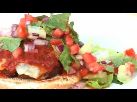 Weber's Recipe of the Week—Open-Faced Chile Colorado Cheeseburgers